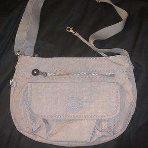 Gray Crossbody Kipling Bag